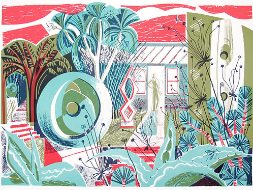 """Clare Curtis """" Barbara's Garden"""""""