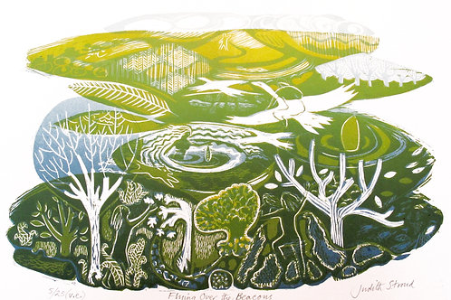 "Judith Stroud ""Flying over the Beacons"""