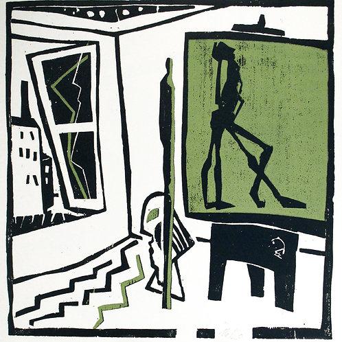 """Michael Hofmann """"Blick aus dem Atelier"""""""