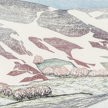 """""""Snow on the Moors along to Hawnby"""""""