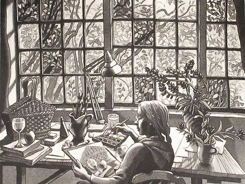 """Christina Ringsberg """"Vid fönstret"""""""