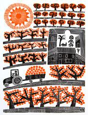 Orange Farm Near Valencia