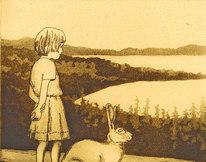 Sommarnatt med hare