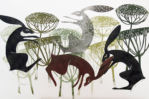 """Diane Griffiths """"Hares"""""""