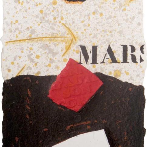 """Alain Soucasse """"Mars"""""""