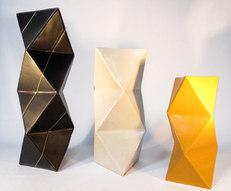 Tre triangelvaser