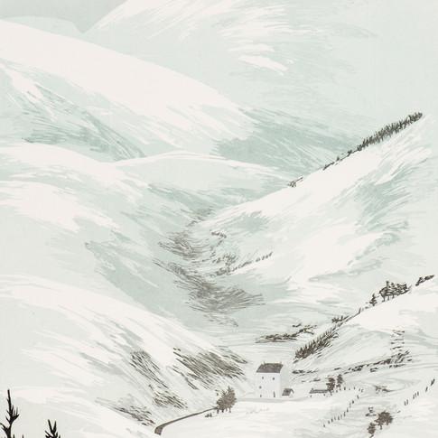 """Winter At Corgarff"""