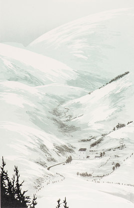 Winter at Corgarff