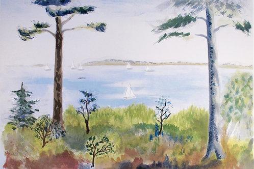 "Astri Bergman Taube ""Leden till Sandhamn"""