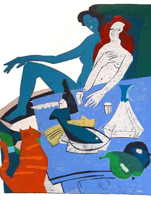 """Michael Hofmann """"Breakfast for Two"""""""