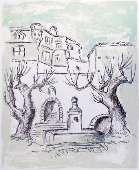 Den Grönögdas borg