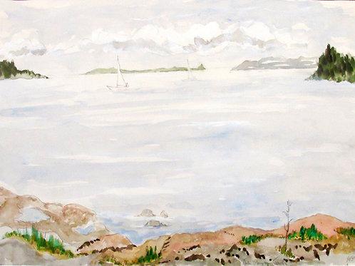 "Astri Bergman Taube, ""Sjösala 1979"""