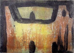 Etsning, Bild 17,5x24,5 cm, Blad 27x33 cm
