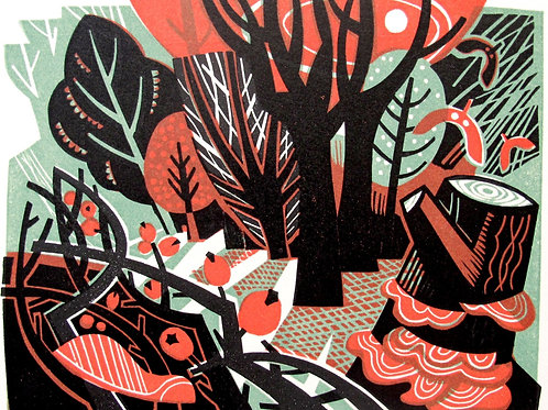 """Clare Curtis """"Woodland"""""""