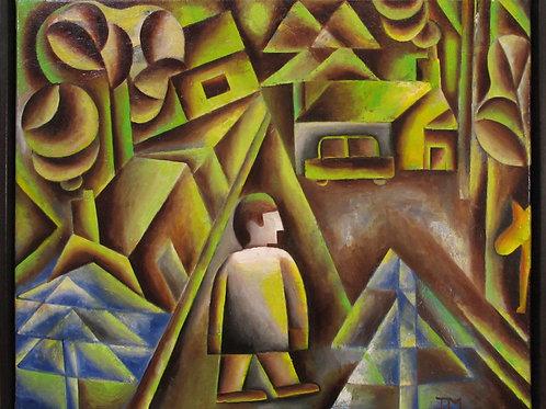 "Ian MacIntyre  ""House in the Woods"""