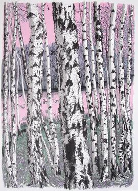 Between the Birches