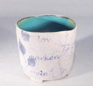 Burk i keramik