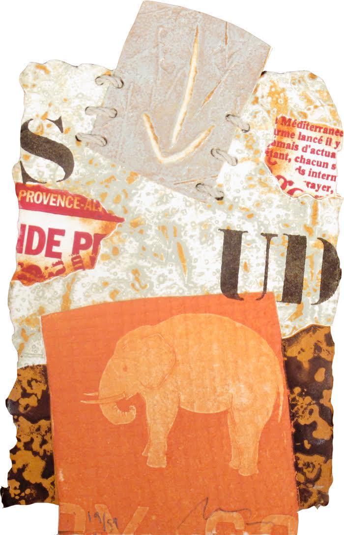 Alain Soucasse    Sud,etsning, 23x14 cm, upplaga 51