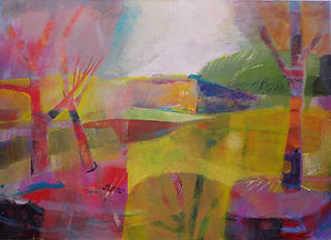 "Diane Griffiths  ""Fragmented landscape"""