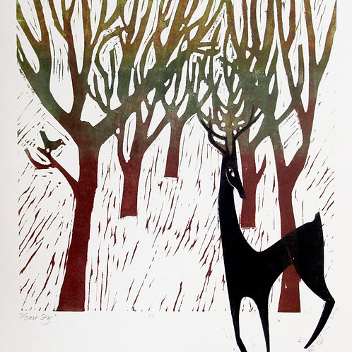 """Diane Griffiths """"Forest Stag"""""""