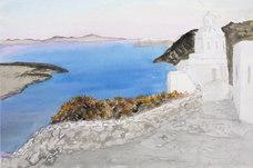 Kapell i Thira I, Santorini, sept 79
