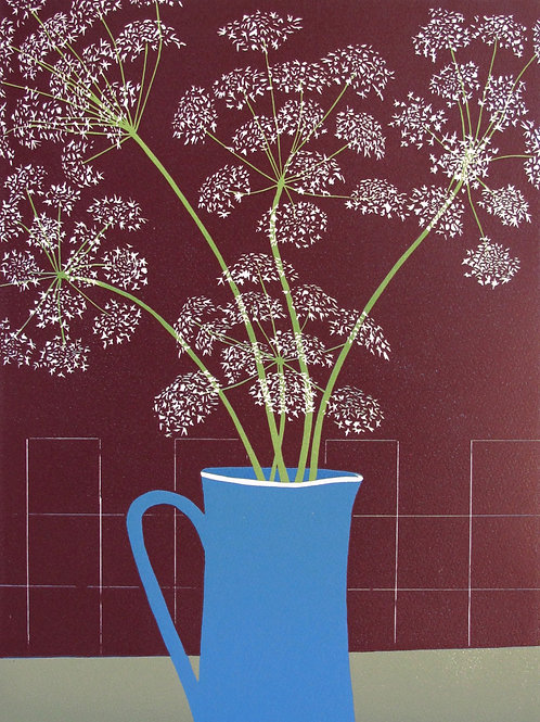 """Richard Shimell  """"Cow Parsley"""""""