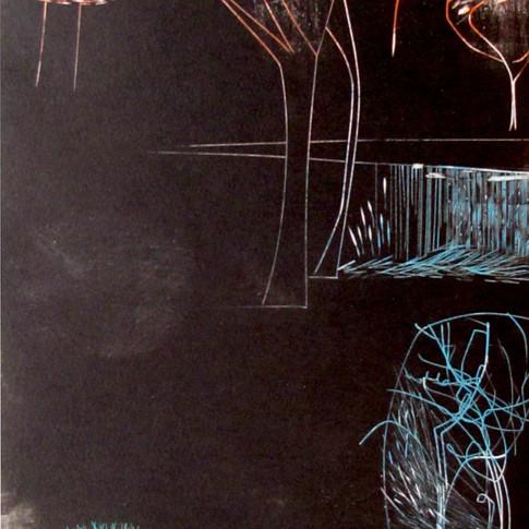 """Diane Griffiths """"DarkeningTrees"""""""