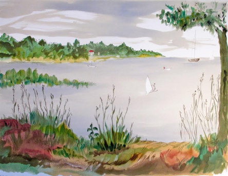 Båtliv på Gammelbodaviken