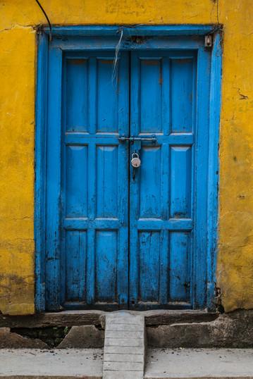 THE SHINING DOOR