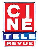 Logo of the magazine Ciné Télé Revue
