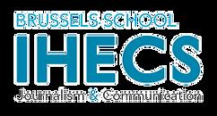 Logo of the Brussels Journalism and Communication School - University IHECS