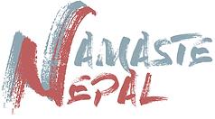 Logo of the association Namaste Nepal