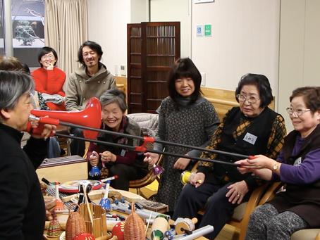 12月4日 即興音楽プログラム、 最終回(シルバーハウジング コミュニティールーム)