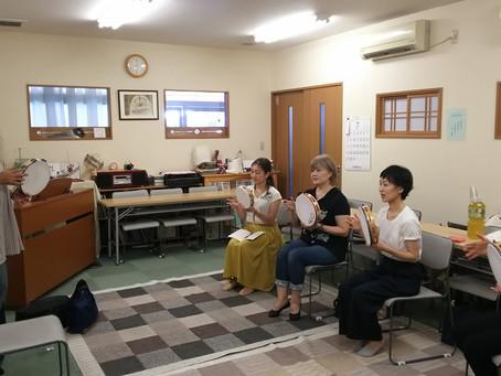 【タンバリン教室 豊中!!summer】