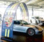 Eventbåge bilhall Porsche