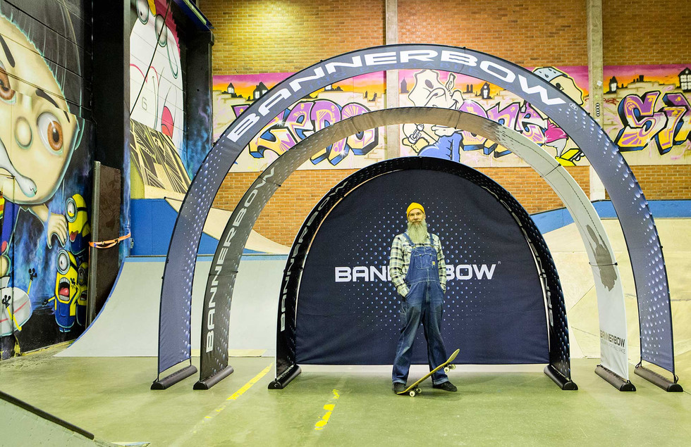 Bannerbow in drei Größen