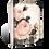 T-464 GENTLE ROSE SID DICKENS MEMORY BLOCK