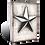 T-471 NAUTICAL STAR SID DICKENS MEMORY BLOCK