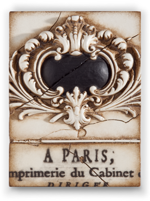 T-123 FRENCH CREST SID DICKENS MEMORY BLOCKS