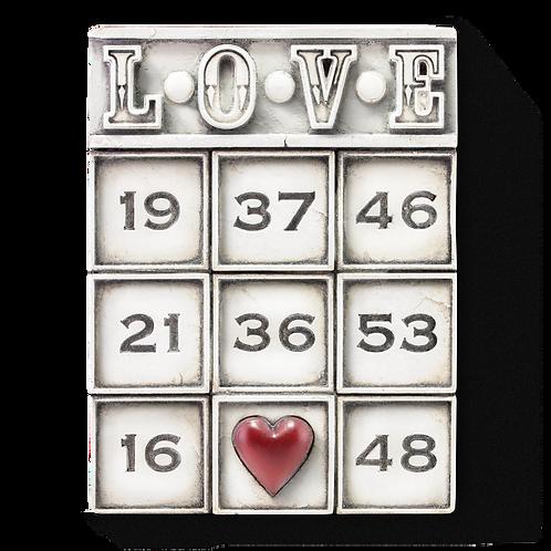 T-463 LOVE SID DICKENS MEMORY BLOCK