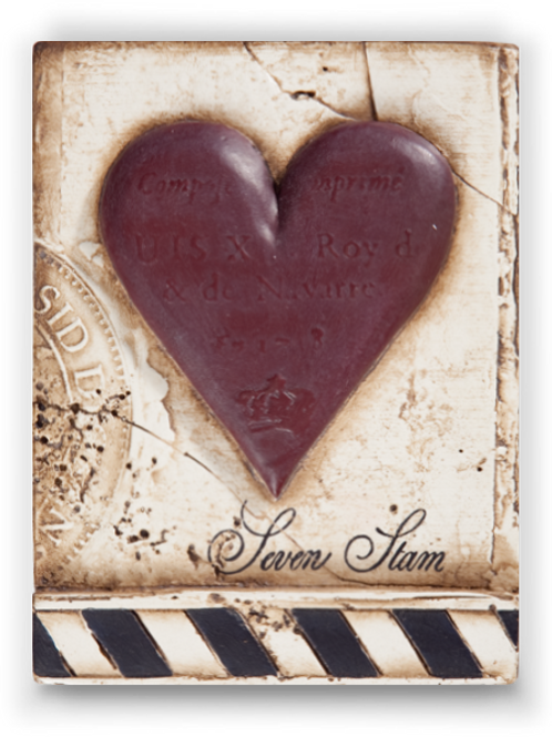 T-175 SEVEN OF HEARTS