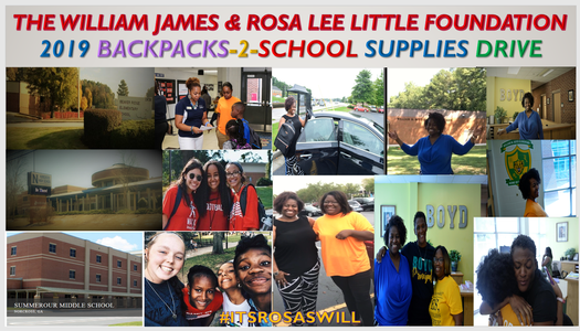 Our 2019 Community Development Initiative exceeded our expectations in making real and positive changes within our Atlanta Metropolitan communities.  During our 2019 BackPacks -To-School Supplies Drive, we were able to more than triple our give, providing young scholars with a great start to the school year, by donating 165 backpacks with school supplies to (APS) Atlanta Public School District's William M. Boyd Elementary School and Gwinnett County Public School District's Beaver Ridge Elementary, Summerour Middle and Norcross High School students.   