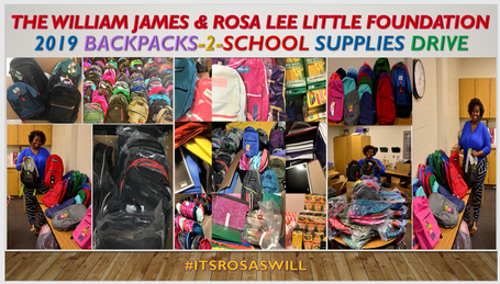 During our 2019 BackPacks -To-School Supplies Drive, we were able to more than triple our give, providing young scholars with a great start to the school year, by donating 165 backpacks with school supplies to (APS) Atlanta Public School District's William M. Boyd Elementary School and Gwinnett County Public School District's Beaver Ridge Elementary, Summerour Middle and Norcross High School students.      Please get in touch with us today and see how you can lend a helping hand with our programs which support this deserving community.    