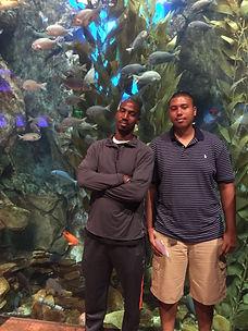 The Georgia Aquarium With The Family! #JohnsonMen