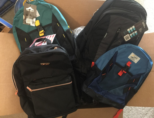 During our 2019 BackPacks -To-School Supplies Drive Donations