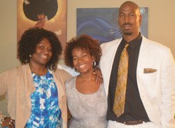 The Johnson Family, Pamla, Theron, and Amber-Nicolette