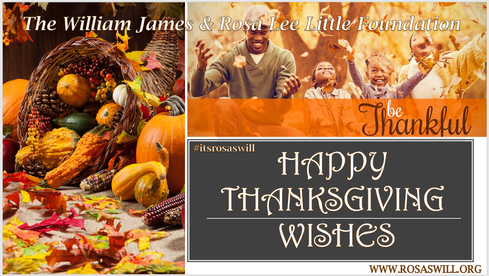 Have A Happy Thanksgiving #itsrosaswill