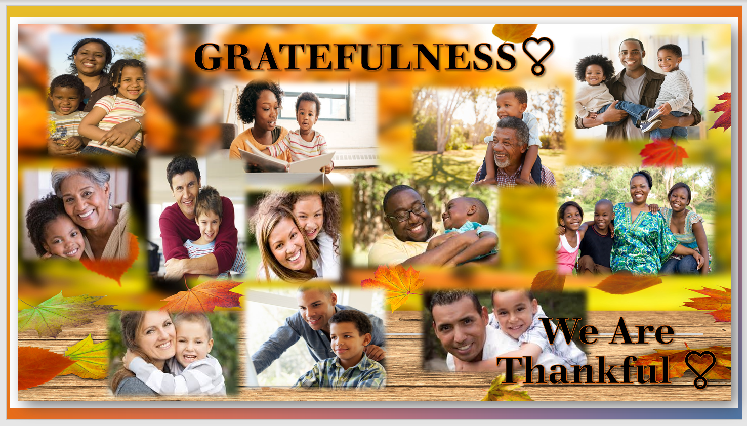 2019 GIVING THANKS