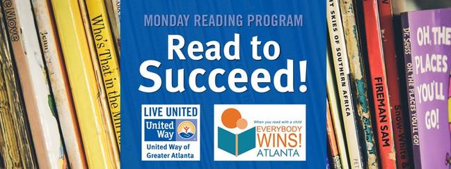 2018 Everybody Wins Atlanta & United Way Monday Reading Program