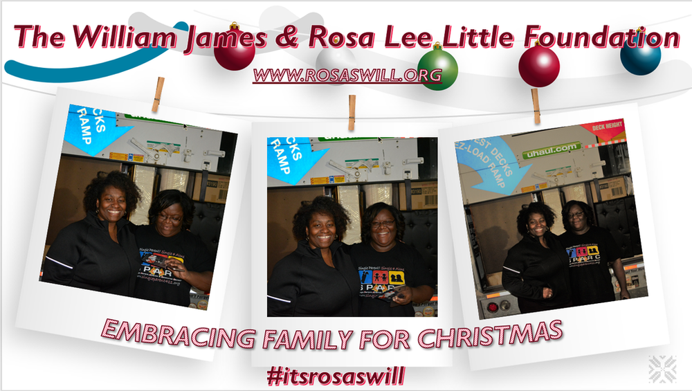 2019 Embracing Family For Christmas Recipient & Furniture Donation Recipient